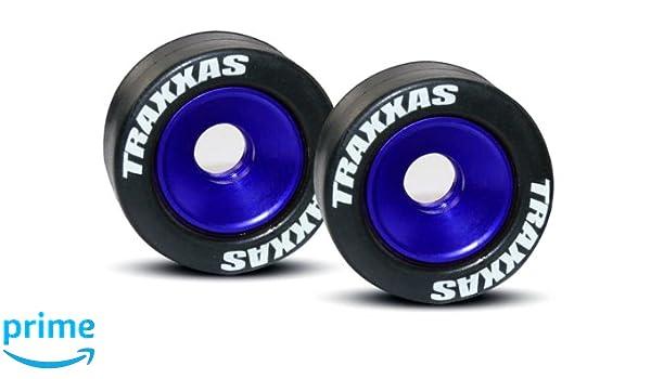 Traxxas 5186A Wheel Model Car Parts, Blue: Amazon co uk