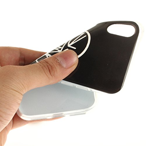 Cover iPhone X , YIGA Moda Formula Matematica Printing Disegno Personalità Morbido TPU Silicone Flessibile Gel Guscio Cover Protettiva Bumper Case Protezione Copertura Custodia per Apple iPhone X (5,8 TX20