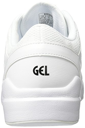 Asics Gellyte Komachi, Baskets Baskets Baskets Basses Athlétiques Blanches blanc   417526