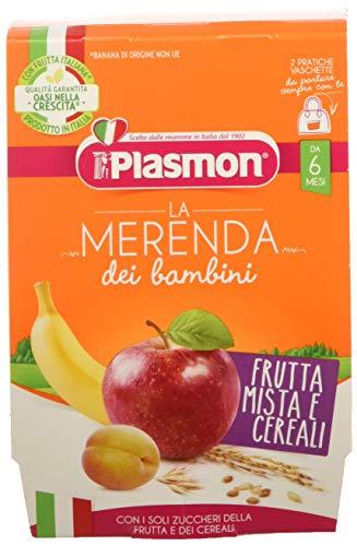 Plasmon Merenda Frutta Mista Cereali Pacco da 12 x 240 gr