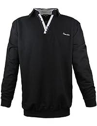 Lavecchia polo tee shirt pour homme manches longues grande taille