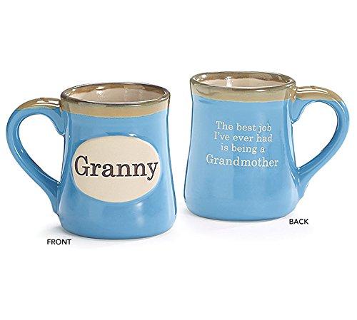 Burton Burton & nonna in porcellana, dipinto a mano, 18 oz Tazza da caffè