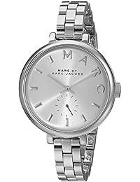 Marc Jacobs MBM3362 - Reloj con correa de metal, para mujer, color plateado