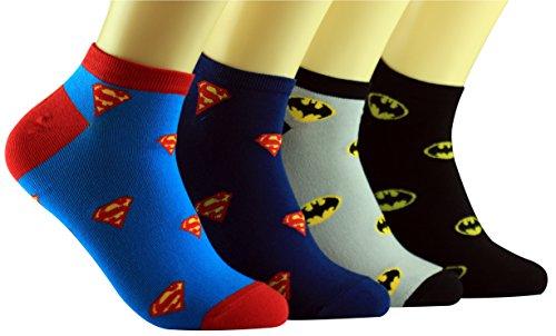 Superman Batman DC Comics Socken