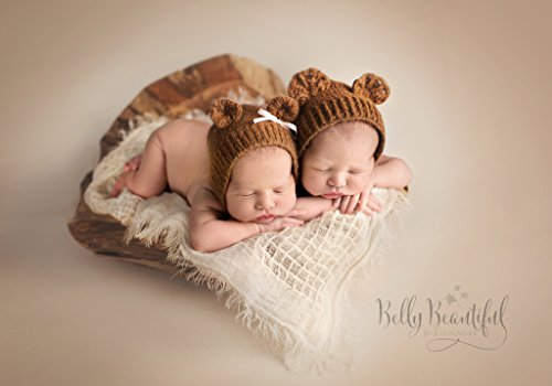 Bear Bonnet Crochet Pattern - All Newborn, Baby, and Toddler Sizes Included (English Edition)