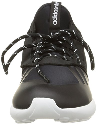 adidas Tubular B25538, Baskets mixte enfant Noir (Core Black/Core Black/White)