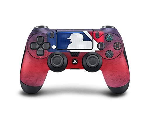 PS4 DualShock Wireless Controller Pro Konsole PlayStation4 Controller mit weichem Griff und exklusiver individueller Version Skin (PS4-MLB The Show 19)