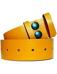 Leather Snap Fit Belt