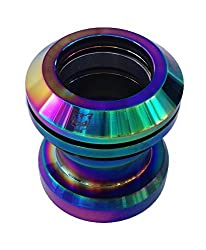 Team Dogz Rainbow Neo Chrome Stunt Scooter Headset