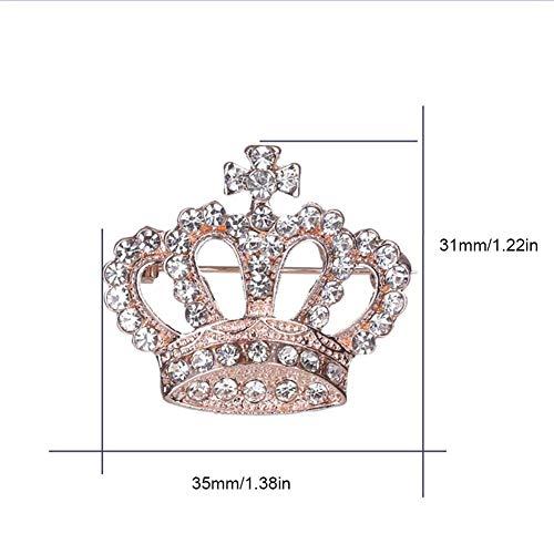 Zoom IMG-3 aheadad corona spilla monili di