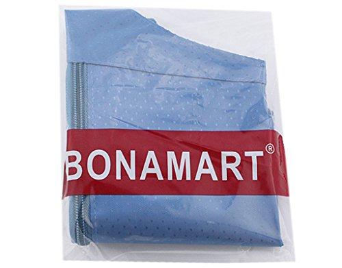 BONAMART ® Damen Männer Tragbare Hüfttasche Gürteltasche Bauchtasche Schultertaschen Reise Sport Geldbörse Geldbeutel Blau