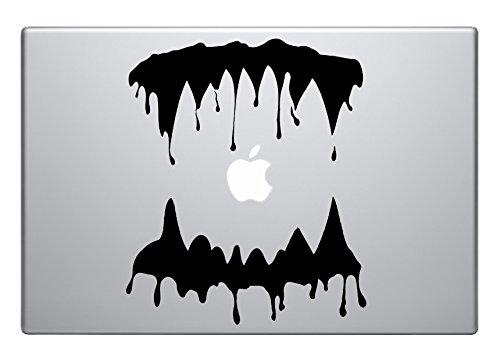 Monster Vampire blood-Mund-dripping cool Qualität und einzigartiges happy halloween-für fast alle Oberflächen geeignet-Einfache Montage Wandaufkleber aus vinyl, witzig und cool für home improvement und Verzierungen ist ein tolles Geschenk zum Geburtstag