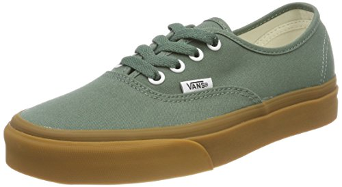 Vans Unisex-Erwachsene Authentic Sneaker, Grün (Duck Green/Gum Q9v), 43 EU