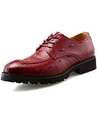 Sunny Baby Business Oxford da uomo Casual alla moda Round-hend antiscivolo scarpe  con fondo spesso dd139277df4