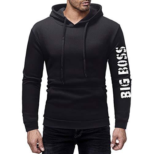 Sweat à Capuche Homme, Printemps Automne Hiver Sweat-Shirt Manteau Veste AméLiorer Pas Cher Hoodies LâChe DéContracté Pullover Sweat-Shirt Chemisier Roiper