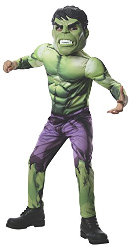 Rubies Marvel Universe Classic Collection Avengers Assemble Deluxe Incredible Hulk Costume, Child Large by (Incredibles Violett Kostüme)