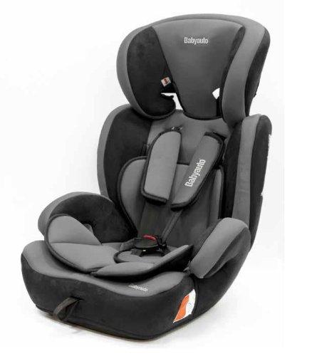 Babyauto Konar - Silla de seguridad infantil, grupo 1/2/3, color gris