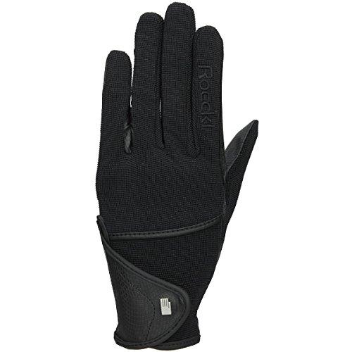 Roeckl sports ROECKL Reit Handschuhe MADISON, schwarz, 7