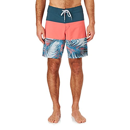 Billabong tribong x Fronds Herren Badeshorts Red