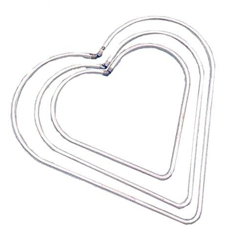 iShine - Aro de Metal con Forma de corazón para atrapasueños, diseño de corazón