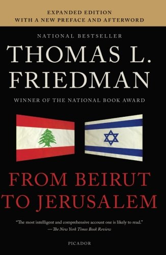 From Beirut to Jerusalem por Thomas L. Friedman