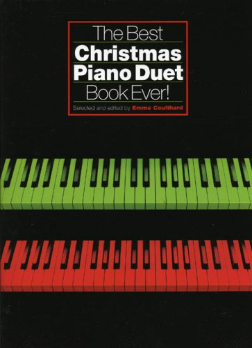 Best Christmas Piano Duet Book (Sala Piano Music)