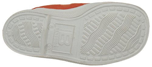 Bensimon Tennis Elastique, Baskets Basses Mixte Enfant Orange (Orange)