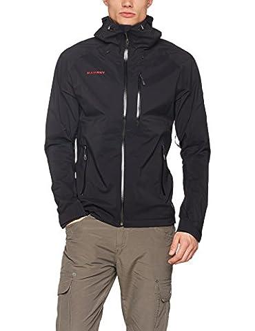 Mammut Kento - Mammut Kento HS Hooded Jacket black