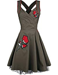 5e3cf41d2e35f Vixxsin Marianne Dress Medium-Length Dress Khaki
