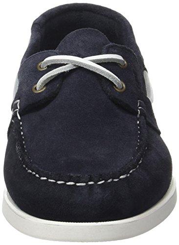 Pellet Herren Tropic E17 Bootschuhe Blau (marineblaues Velours)