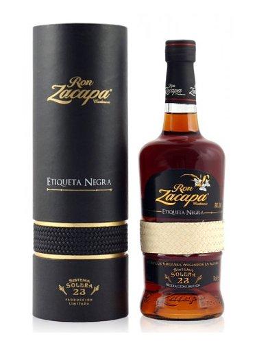 Ron Zacapa Etiqueta Negra Solera 23 0,7 Liter