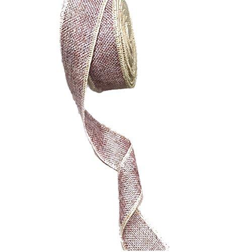 purpura-yute-arpillera-craft-rollo-de-cinta-15inch-2-silla-de-fiesta-de-la-boda-pastel-de-vacaciones