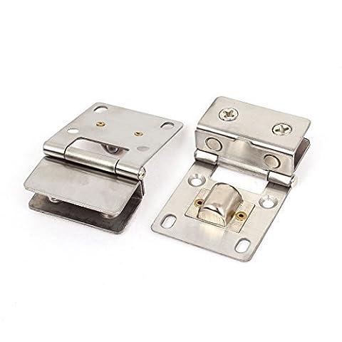 Pivot Armoire - Sourcingmap 4–8mm Épaisseur Armoire Verre Pivot Charnière