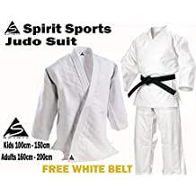 Judo Training Uniform 550grm Spirit Sports 100% cotón ...