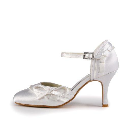 Jia Jia Wedding A31B33 chaussures de mariée mariage Escarpins pour femme Beige