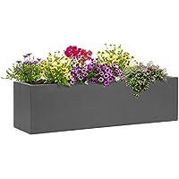 Blumfeldt Solidflor • Macetero • Tiesto decorativo • Fácil de colocar • Sin orificio de drenaje