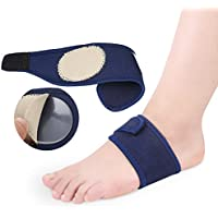 Arch Support Brace HEALIFTY 1 Paar atmungsaktive Silikon Stoff Fuß Pad (blau) preisvergleich bei billige-tabletten.eu