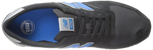 New Balance 383341 60, Baskets Basses Mixte Adulte Noir (Black/001)