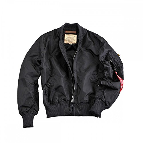 Alpha Industries MA-1 TT Jacket Bomberjacke 191103 Black