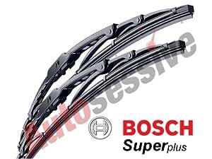 Ford LCV Transit MK6 01/00 - 07/06 BOSCH Super Plus Windscreen Wiper Blades SP28 / SP24 TWIN PACK