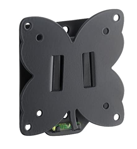 Meliconi Stile S100 Slim Fixed Wall Bracket For All 14-25 Inch Tv Ledlcd &Plasma Max Vesa 100 Made In Italy