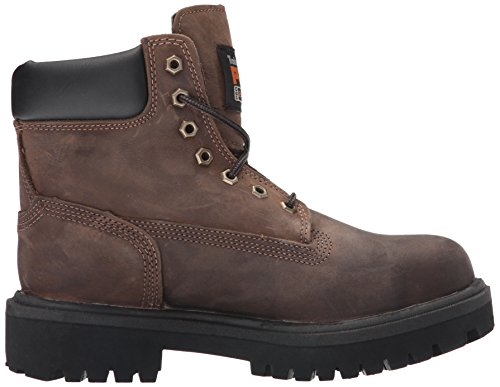 Timberland PRO Mens 38021 Direct Attach 6 Steel-Toe Boot,Brown,11.5 W Brown