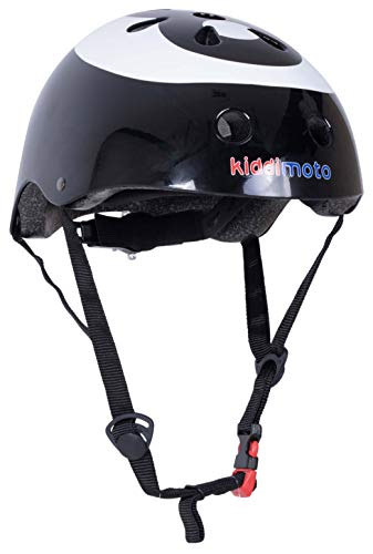 kiddimoto 2kmh001m - Design Sport Helm Eight Ball, Billardkugel Gr. M für Kopfumfang 53-58 cm, 5-12+ Jahre Melon Ball