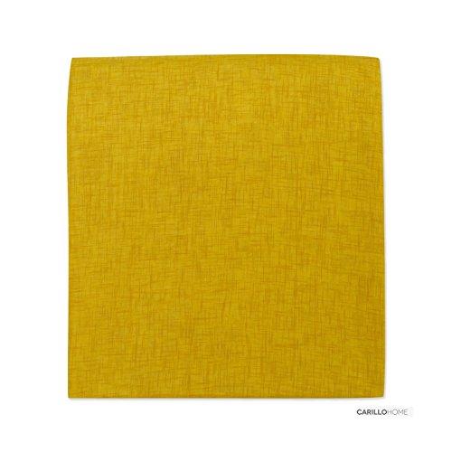 Coppia tendine kimbra - 60x150, giallo