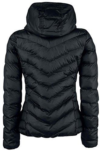adidas Damen Slim Kapuzenjacke Black