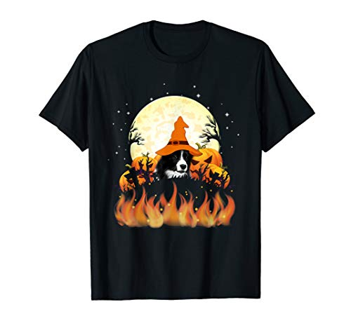 Border Kostüm Collie - Border Collie Tee Shirt Halloween 2019