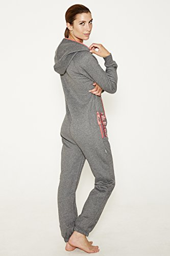 Jumpin Erwachsene Jumpsuit Original, Dark Grey, XXS, 10000 - 2