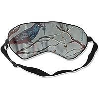 Sleep Eye Mask Crow Key Tree Lightweight Soft Blindfold Adjustable Head Strap Eyeshade Travel Eyepatch E1 preisvergleich bei billige-tabletten.eu