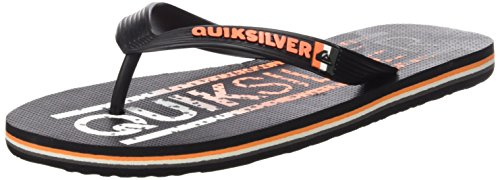 Quiksilver Uomo Molokai Wordmark sandali nero Size: 46