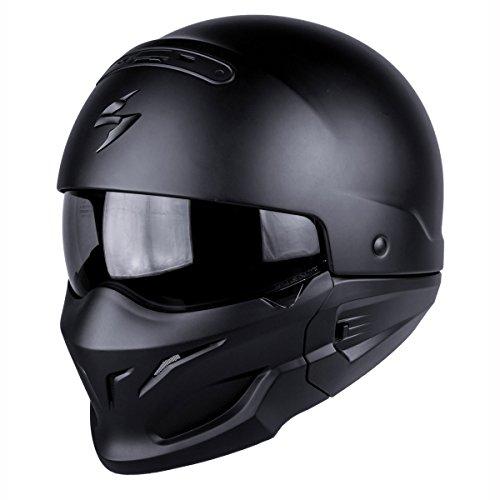 Scorpion Motorrad-Helm Exo-Combat, matt Schwarz, M